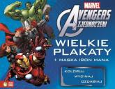 Avengers Wielkie plakaty + maska Iron Mana - zbiorowa praca | mała okładka