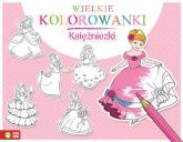 Wielkie kolorowanki Księżniczki - zbiorowa praca | mała okładka