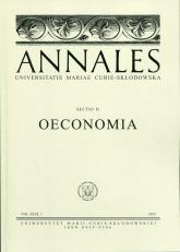 Annales XLIV Oeconomia -  | mała okładka