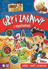 Jake i piraci z Nibylandii Gry i zabawy z wypychankami -  | mała okładka