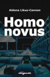 Homo novus - Aldona Likus-Cannon | mała okładka