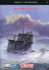 Ali Cremer, U-333 - Fritz Brustat-Naval | mała okładka