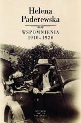 Helena Paderewska Wspomnienia 1910-1920 - Siekierski  Maciej | mała okładka