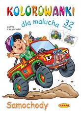 Kolorowanki dla malucha Samochody - Ernest Błędowski | mała okładka