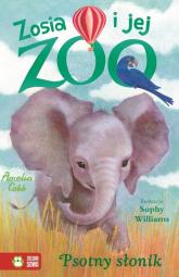 Zosia i jej zoo Psotny słonik - Amelia Cobb | mała okładka