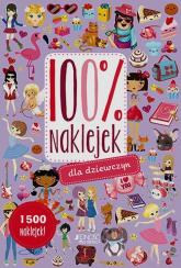 100% naklejek dla dziewczyn -  | mała okładka