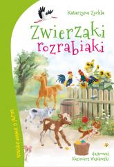Zwierzaki rozrabiaki - Katarzyna Zychla | mała okładka