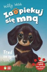Zaopiekuj się mną Fred się zgubił! - Holly Webb | mała okładka