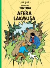 Przygody Tintina Tom 18 Afera Lakmusa - Herge | mała okładka