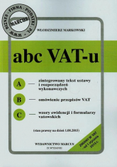 ABC VAT-u - Włodzimierz Markowski | mała okładka