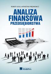 Analiza finansowa przedsiębiorstwa - Golej Robert, Prędkiewicz Katarzyna | mała okładka