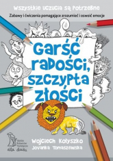 Garść radości, szczypta złości - Kołyszko Wojciech, Tomaszewska Jovanka | mała okładka