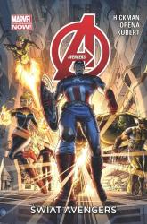 Avengers Świat Avengers - Jonathan Hickman | mała okładka