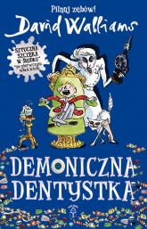 Demoniczna dentystka - David Walliams   mała okładka