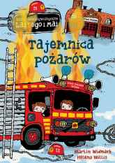 Tajemnica pożarów - Martin Widmark | mała okładka