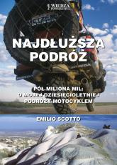 Najdłuższa podróż - Emilio Scotto | mała okładka