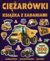 Ciężarówki Książka z zadaniami - zbiorowa praca | mała okładka