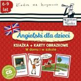 Angielski dla dzieci W domu i w szkole Książka + Karty obrazkowe -  | mała okładka