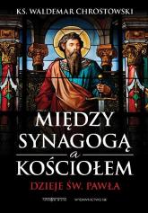 Między Synagogą a Kościołem Dzieje św. Pawła - Waldemar Chrostowski | mała okładka