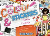 Maxi Colour & Stickers Podróże i wakacje -  | mała okładka