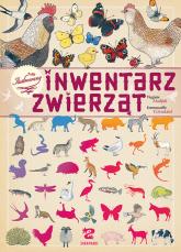 Ilustrowany inwentarz zwierząt - Virginie Aladjidi | mała okładka