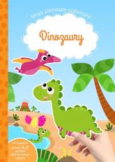 Moje pierwsze naklejanki Dinozaury - Tamara Michałowska | mała okładka