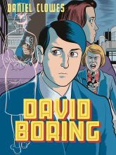David Boring - Daniel Clowes | mała okładka