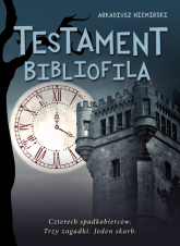 Testament bibliofila - Arkadiusz Niemirski | mała okładka