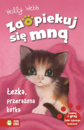 Łezka przerażona kotka - Holly Webb | mała okładka