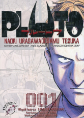 Pluto 1 - Tezuka Osamu Urasawa Naoki | mała okładka