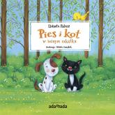 Pies i kot w leśnym zakątku - Elżbieta Pałasz | mała okładka
