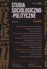 Studia Socjologiczno-Polityczne 1(3)/2015 -  | mała okładka