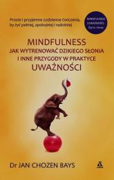 Mindfulness Jak wytrenować dzikiego słonia i inne przygody w praktyce uważności - Bays Chozen Jan | mała okładka