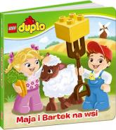 Lego Duplo Maja i Bartek na wsi - zbiorowe opracowanie | mała okładka
