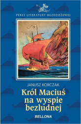 Król Maciuś na wyspie bezludnej - Janusz Korczak | mała okładka