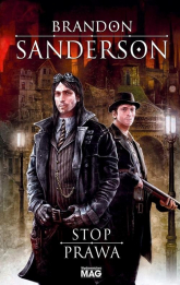 Stop prawa - Brandon Sanderson | mała okładka