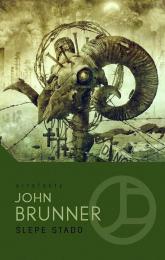 Ślepe stado - John Brunner | mała okładka