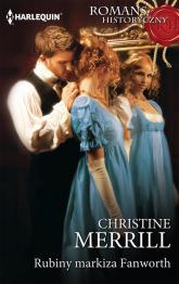 Rubiny markiza Fanworth - Christine Merrill | mała okładka