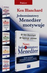 Nowy Jednominutowy Menedżer /Jednominutowy Menedżer buduje wydajne zespoły / Jednominutowy Menedżer i przywództwo / Jednominutowy Menedżer Równowaga życia i pracy / Jednominutowy Menedżer spotyka małpę / Techniki Jednominutowego Menedżera w praktyce  - Ken Blanchard | mała okładka
