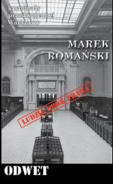 Odwet Kryminały przedwojennej Warszawy - Marek Romański | mała okładka