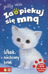 Wąsik niechciany kotek - Holly Webb | mała okładka