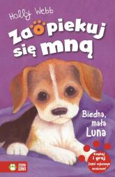 Biedna mała Luna - Holly Webb | mała okładka