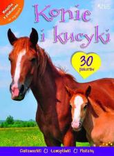 Konie i kucyki Książka z plakatami -  | mała okładka