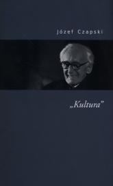 Kultura - Józef Czapski | mała okładka
