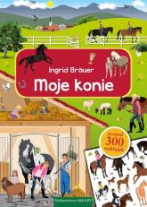Moje konie - Ingrid Bräuer | mała okładka