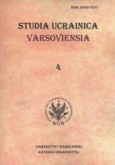 Studia Ucrainica Varsoviensia 4 -  | mała okładka