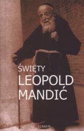 Święty Leopold Mandić - Marek Miszczyński | mała okładka