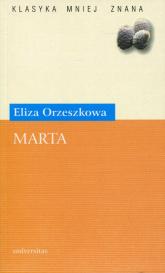 Marta - Eliza Orzeszkowa | mała okładka
