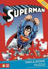 Naklejkowe puzzle. Superman -  | mała okładka