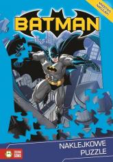 Naklejkowe puzzle. Batman -  | mała okładka
